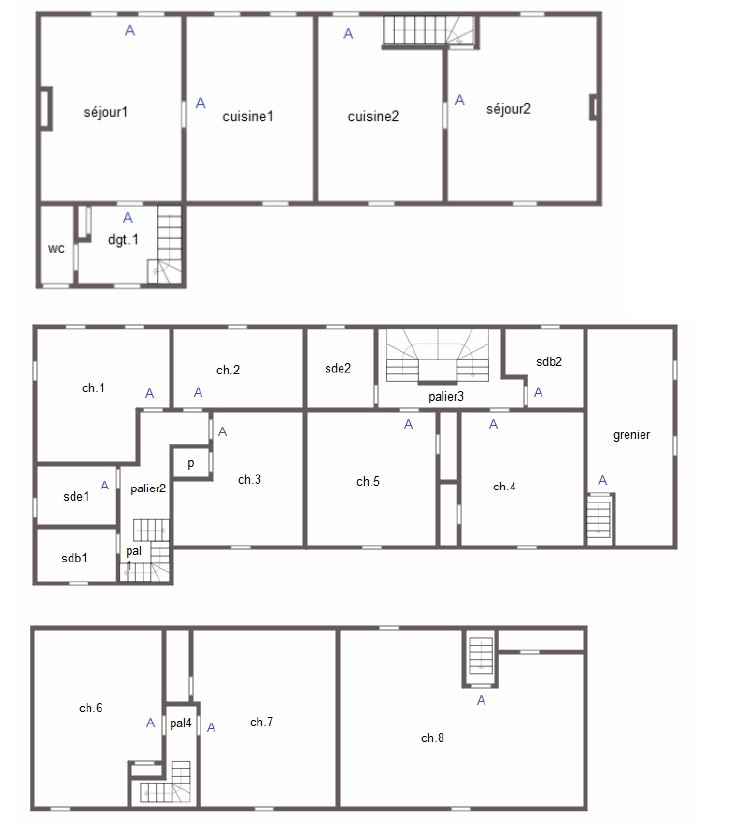 Floor plan Roncey