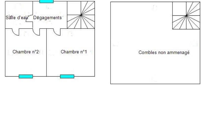 Antrain plan 1 et 2 etage
