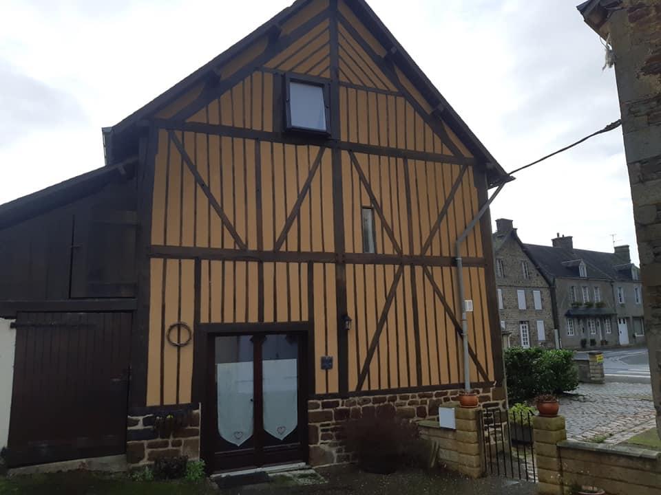Maison avec gite dans un bourg