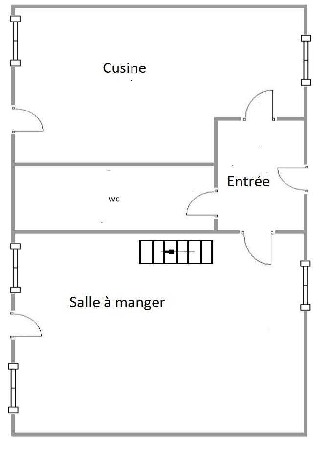 St Vigor Ground floor Plan French