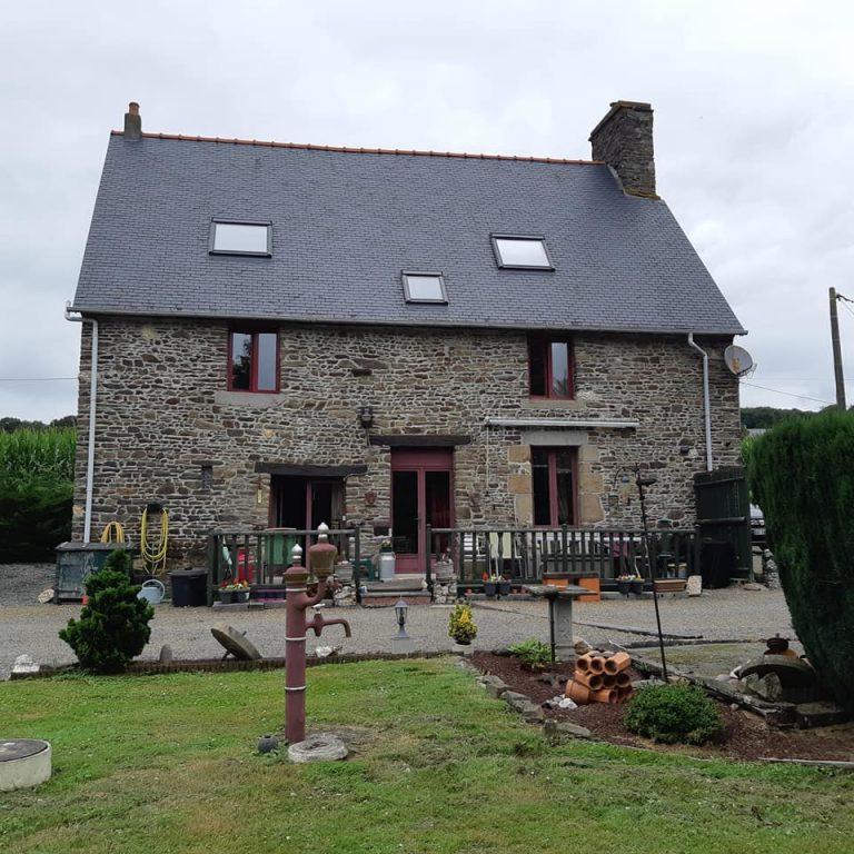 maison en pierre rénovée